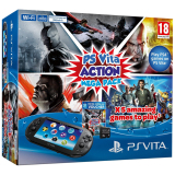 Ôn Tập May Ps Vita 2000 Slim Action Mega Pack Đen Sony