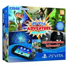 Giá Bán May Ps Vita 2000 Slim Adventure Mega Pack Đen