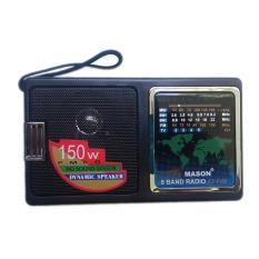 Bán May Radio Chuyen Dụng 5 Băng Tần Mason F400 Baonhi Đen Rẻ Nhất