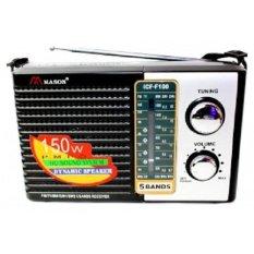 Mã Khuyến Mại May Radio Chuyen Dụng Mason Icf F100 Đen Rẻ