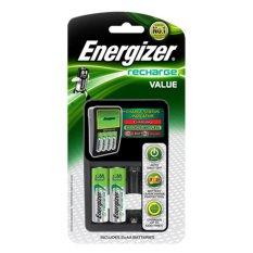 Bán May Sạc Pin Energizer Chvcm4 Kem 2 Pin Sạc Aa Trắng Đen