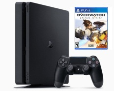 Bán May Sony Playstation Ps4 Slim 500Gb Cuh2006A Kem Đĩa Game Overwatch Sony Computer Entertainment