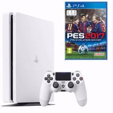 Giá Bán May Sony Playstation Ps4 Slim 500Gb Trắng Cuh2006A Tặng Kem Đĩa Game Pes 2017 Có Thương Hiệu