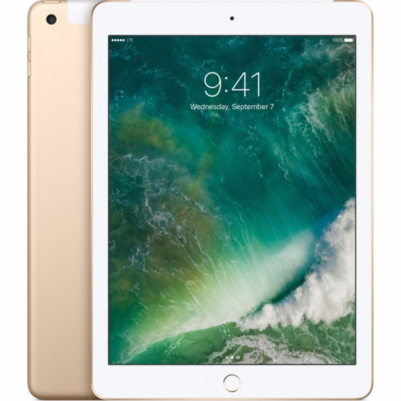 Máy tính bảng Apple iPad Gen5 4G/LTE (iPad Gen 5 9.7) – 2017 vàng 128gb - Hàng nhập khẩu