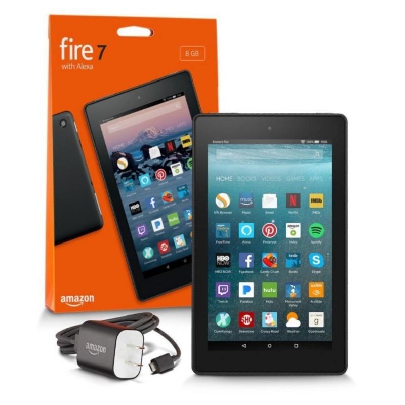 Máy tính bảng Fire7/ 2017/  8GB Wifi (Black) - Hàng nhập khẩu