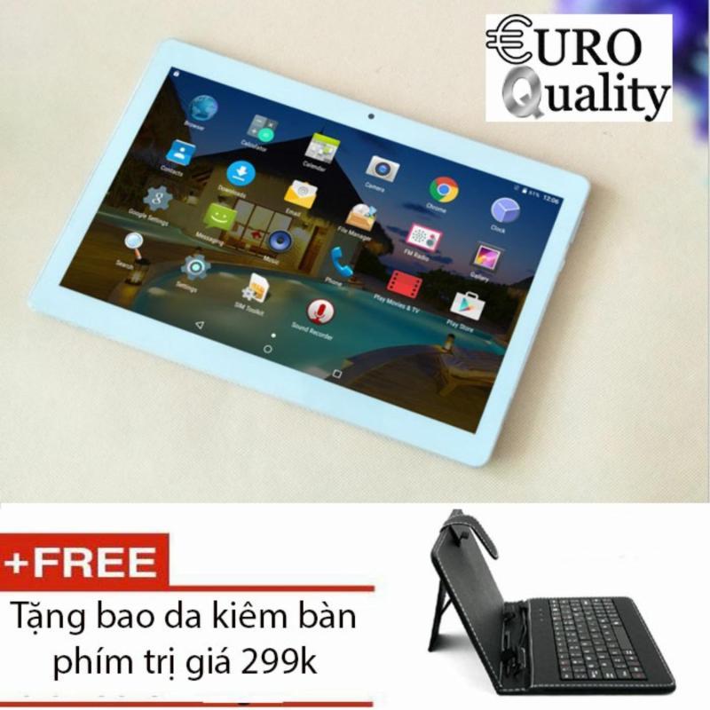 Máy tính bảng MTK Tablet 10.1 inch Ram 4Gb bộ nhớ 32Gb Cortex A7 1.6Ghz 6592 Dual Sim 3G nghe gọi + tặng bao da