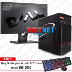 Mua May Tinh Để Ban Intel Core I5 2400 Ram 8Gb 250Gb Lcd Dell 22 Inch Wide Computer Rẻ