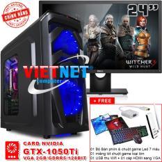 Hình ảnh Máy tính chiến game core i7 2600 card GTX-1050 RAM 16GB 1TB + LCD Dell 24in VietNet