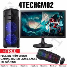 Bán Mua May Tinh Chơi Game 4Techgm02 Core I5 Ram 8Gb Hdd 500Gb Vga Gt730 Man Hinh Lg 22 Inch Chuyen Lol Fifa Stream Tặng Phim Chuột Gaming Dareu Mới Hà Nội