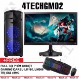 Giá Bán May Tinh Chơi Game 4Techgm02 Core I5 Ram 8Gb Hdd 500Gb Vga Gt730 Man Hinh Lg 24 Inch Chuyen Lol Fifa Stream Tặng Phim Chuột Gaming Dareu Brand Mới