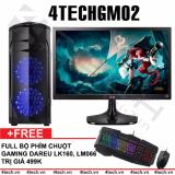 Ôn Tập May Tinh Chơi Game 4Techgm02 Core I5 Ram 8Gb Hdd 500Gb Vga Gt730 Man Hinh Lg 24 Inch Chuyen Lol Fifa Stream Tặng Phim Chuột Gaming Dareu