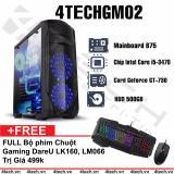 May Tinh Chơi Game 4Techgm02 Core I5 Ram 8Gb Hdd 500Gb Vga Gt730 Chuyen Lol Fifa Stream Tặng Phim Chuột Gaming Dareu Hà Nội Chiết Khấu