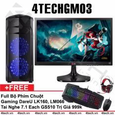 Ôn Tập May Tinh Chơi Game 4Techgm03 Core I5 Ram 8Gb Hdd 500G Vga Gtx750 Màn Hình Lg 22 Inch Chuyen Gta Overwatch Tặng Phim Chuột Gamers Dareu Tai Nghe Gaming 7 1 Gs510 Mới Nhất