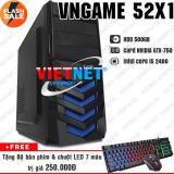 Giá Bán May Tinh Chơi Game Vngame 52X1 I5 2400 Gtx750 8Gb 500Gb Chuyen Lol Gta 5 Fifa Battelground Overwatch Computer