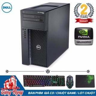 Máy tính chuyên Đồ Họa 3D Dell Precision T1650 (Xeon E3-1240, Ram ECC 16GB, SSD 240GB, HDD 3TB, VGA Quadro 2000 ) + Quà Tặng - Hàng Nhập Khẩu thumbnail