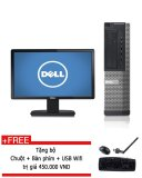 Bán May Tinh Để Ban Dell Optiplex 390 Core I5 2500 Ram 8Gb 500Gb Hdd Man Hinh 20 Inch Tặng Bộ Ban Phim Chuột Usb Wifi Hang Nhập Khẩu