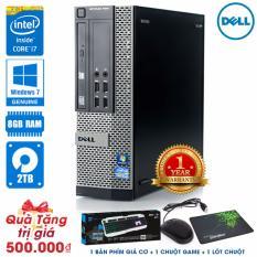 Giá Bán May Tinh Để Ban Dell Optiplex 7010 Sff Core I7 2600 Ram 8Gb Hdd 2Tb Tặng Phim Giả Cơ Chuột Game Lot Chuột Hang Nhập Khẩu Dell Nguyên