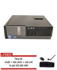 Giá Bán May Tinh Để Ban Dell Optiplex 990 Core I3 2120 4Gb Ram Ssd 128Gb Tặng Bộ Chuột Ban Phim Usb Wifi Hang Nhập Khẩu Nguyên Dell