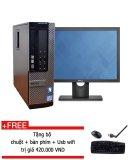 Mã Khuyến Mại May Tinh Để Ban Dell Optiplex 990 Core I3 2120 4Gb Ram Ssd 128Gb Man 20Inch Tặng Bộ Chuột Ban Phim Usb Wifi Hang Nhập Khẩu Rẻ