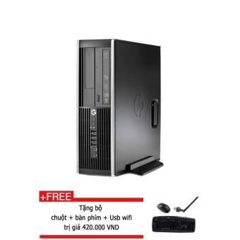 Máy tính để bàn HP 6200 core i3 2100, 4GB RAM,  SSD 128GB, Tặng phím + chuột + USB Wifi  (Hàng nhập khẩu)