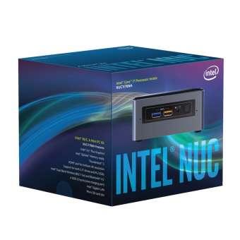 máy tính để bàn mini intel nuc kit boxnuc7i7bnh i7-7567u (đen) - hãng phân phối chính thức