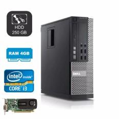 Ôn Tập May Tinh Đong Bộ Dell Chuyen Game 990 Core I3 Ram 4Gb Hdd 250Gb Card Rời Quadro 600 Hang Nhập Khẩu Xam