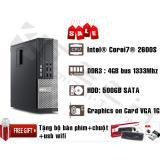 Bán May Tinh Đồng Bộ Dell Optiplex 7010 Intel Core I7 2600 Ram 8Gb Hdd 500Gb Tặng Chuột Ban Phim Ban Di Hang Nhập Khẩu Dell Có Thương Hiệu