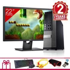 Hình ảnh Máy tính đồng bộ Dell Optiplex 9020 SFF + Màn hình Dell 22Inch (Core i5 4570, Ram 8GB, HDD 1TB) + Quà Tặng - Hàng Nhập Khẩu
