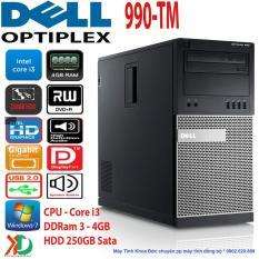Hình ảnh Máy Tính Đồng Bộ Siêu Bền DELL Optiplex 990-TM Core I3/4GB Ram/250GB HDD Hàng Châu Âu