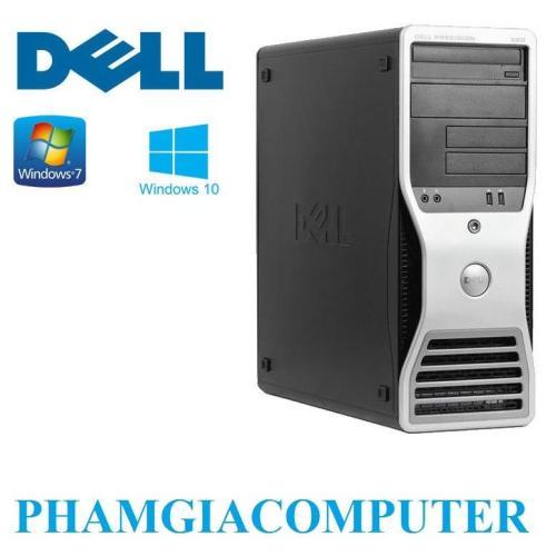 Máy trạm chơi Game đồ hoạ Dell Precision 390 Intel Core Q6600 4x2 40  8GB/SSD128G/HDD 250GB-Tặng bộ phím giả cơ+ chuột Game –