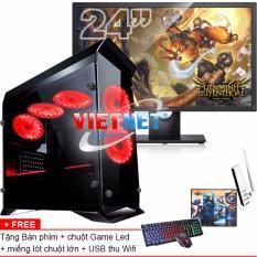 Chiết Khấu May Tinh Game Khủng I5 4460 Card Rời 2Gb 1030 Ram 16Gb 2Tb Ssd120Gb Dell 24In Vietnet
