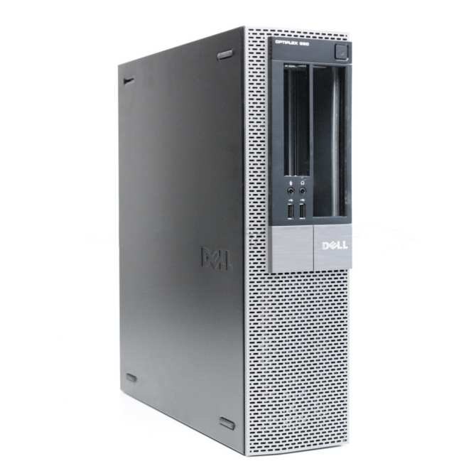 Máy tính văn phòng Dell Optiplex 960 DT Core 2 Duo E8400, Ram 8GB, SSD120GB (Tặng bàn phím, chuột, lót chuột) - Hàng Nhập Khẩu
