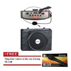 Mua May Trợ Giảng Hong Kong Electronics Sn 898 Đen Tặng Micro Arirang 3 6B Co Day Rẻ Hồ Chí Minh