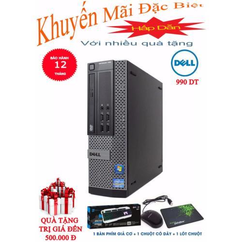 Máy vi tính HTPC Dell Optiplex 990 USFF 4GB, 250GB HDD (Tặng phím giả Cơ,  chuột không dây, lót chuột,