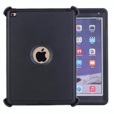 Giá Bán Meishengkai Case For Apple Ipad Air 2(Ipad 6) 3 Layers Heavy Duty Defender Hybrid Soft Tpu Pc Bumper Triple Shockproof Drop Resistance Protective Case Cover Black Intl Oem Trực Tuyến