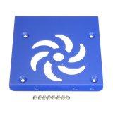 Kim loại 2.5 đến 3.5 inch SSD Đĩa Cứng Gắn Ngàm Chuyển Đổi Dock Giá Đỡ Màu Xanh-quốc tế
