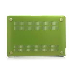 Hình thu nhỏ Metal Texture Series Hard Shell Plastic Protective Case for Macbook 12inch(Green) - intl