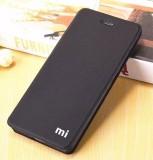 Mua Mi Logo Da Flip Cover Ốp Lưng Cho Xiaomi Redmi 5A Quốc Tế Oem