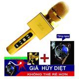 Chiết Khấu Mic Kem Loa Karaoke Bluetooth X6 Loại 1 Tặng Đồng Hồ Có Thương Hiệu