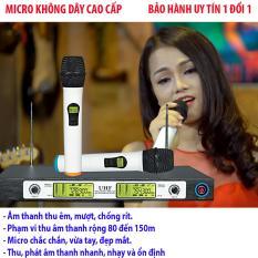 Mic khong day shure ugx9 còn đắt hơn sản phẩm Cao Cấp này. - Micro không dây Chuyên nghiệp UHF PRO 88, hát karaoke cực hay - BH uy tín 1 đổi 1 VIỆT NAM STORE.
