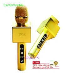 Mic Loa Karaoke Bluetooth X6 Cap Sạc Remax139K Mới Nhất