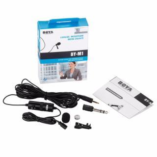 Micro gài áo cho máy ảnh và điện thoại Boya BY-M1 [Hãng phân phối chính thức] thumbnail