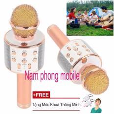 Giá Bán Micro Hat Karaoke Bluetooth 3In1 Kem Loa Ws 858 Oem Nguyên