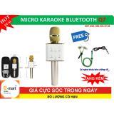 Bán Micro Hát Karaoke Bluetooth Q7 Tót Nhát Tai Nghe Zipper Chóng Rói Cao Cáp Oem Trực Tuyến