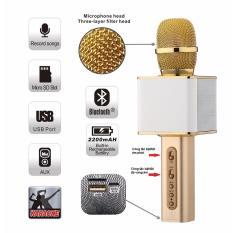 Hình ảnh ( XEM VIDEO CHI TIẾT )Micro Hát Karaoke SD 08 - Mic Hát Karaoke Kiêm Loa Bluetooth