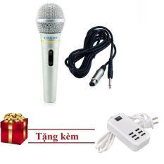Chiết Khấu Micro Karaoke Co Day 3 5 M Xingma Ak 319 Cho Am Li Loa Kẹo Keo Tặng Sạc 6 Cổng Có Thương Hiệu