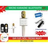 Cửa Hàng Micro Karaoke Q7 Bluetooth Kèm Loa 3 Trong 1 Mới Nhát Tặng Tai Nghe Bluetooth Music Oem Trong Vietnam