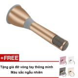 Giá Bán Micro Karaoke Tich Hợp Loa Bluetooth 3 Trong 1 K068 Vang Đồng Tặng Gia Đỡ Vong Tay Thong Minh Nguyên
