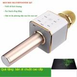 Giá Bán Micro Karaoke Tich Hợp Loa Bluetooth Q7 Vang Tặng 1 Ban Di Chuột Cao Cấp Mới