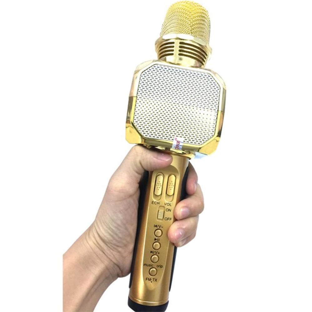 Micro kèm loa Bluetooth Karaoke SD-10 Micro karaoke bluetooth (Model cực hay) 1000000642